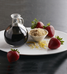 Strawberries & Balsamic Vinegar