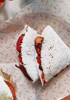 Strawberry Chocolate Tapioca Crepe