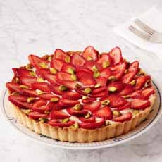 Strawberry Flower Tart