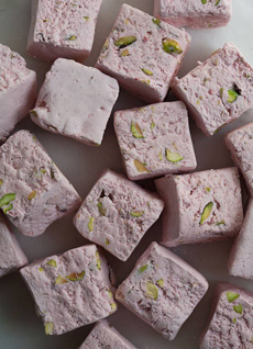 Strawberry Pistachio Nougat