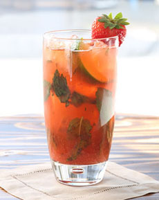 Strawberry Rose Mojito Recipe