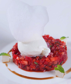 Strawberry Tartare