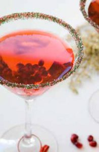 Pomegranate Arils Cocktail Garnish