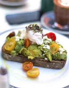 Summer Avocado Toast