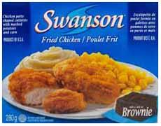 Swanson Chicken Dinner