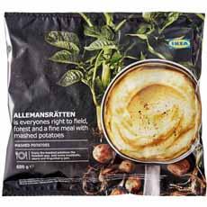 Frozen Mashed Potatoes Ikea