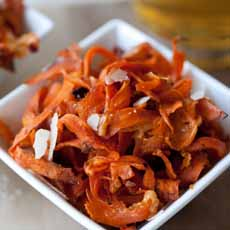 Sweet Potato Peel Chips