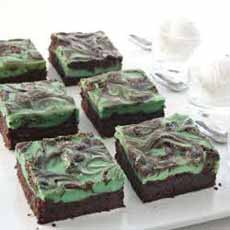 Irish Cream Swirl Brownies McCormick