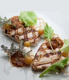 Swordfish With Fig Jam