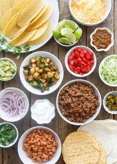 DIY Taco Bar