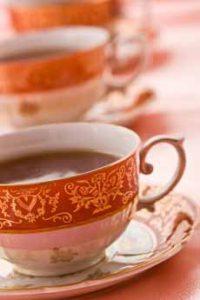Black Tea In China Cups