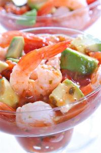 Salsa Shrimp Cocktail