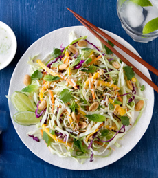Spicy Thai Cole Slaw