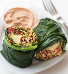 Thai Collard Wrap