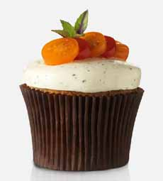 Goat Cheese Cupcake