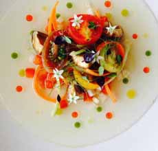 Salad With Flavored Oils