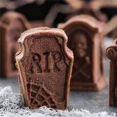 Tombstone Cake Nordicware Halloween