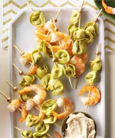 Tortellini Shrimp Skewers