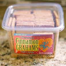 Graham Crackers Box