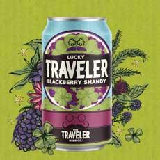 Traveler Beer Blackberry Shandy