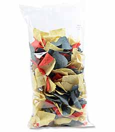 Tricolor Tortilla Chips Bag
