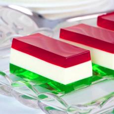 Tricolor Jello Mold