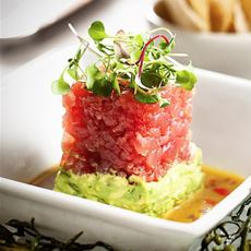 Tuna Tartare On Guacamole