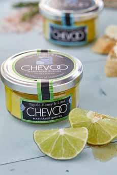 Chevoo Tupelo Honey Lime Goat Cheese