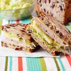 Turkey Cheddar Sandwich