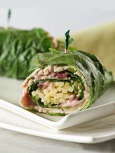 Turkey Collard Wrap
