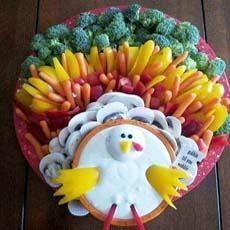 Thanksgiving Crudites Platter