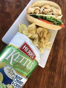 Turkey Sandwich & Chips