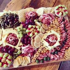 Valentine Cheese Board