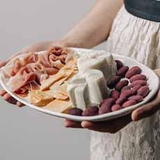 Valentine Cheese Board