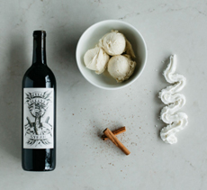 Vanilla Sparkling Wine Shake