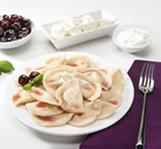 Vareniki With Cheese & Cherries