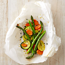 Vegetables In Parchment