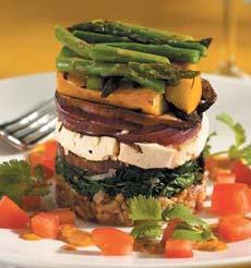 Vegetable Stacks