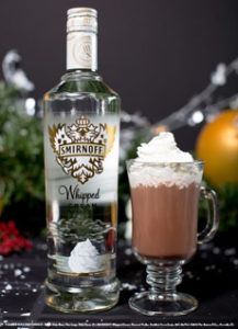 Hot Chocolate With Flavored Vodka