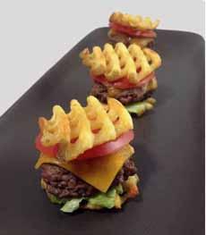 Waffle Fry Sliders