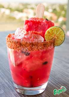 Watermelon Agua Fresca With Tajin