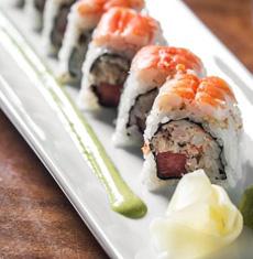 watermelon-roll-snow crab-greenonion-mint-shrimp-haru-230