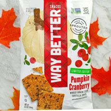 Way Better Pumpkin Cranberry Chips