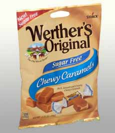 Werther's Sugar Free Chewy Caramels