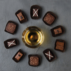 Scotch-Infused Chocolate Truffles
