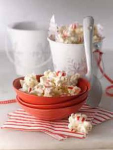 White Chocolate Peppermint Popcorn Recipe