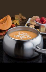 White Chocolate Pumpkin Fondue