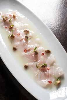 White Fish Tiradito