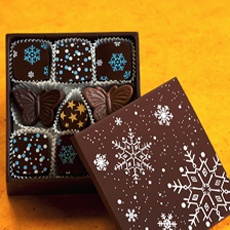 Edible Chocolate Box - Charles Chocolates