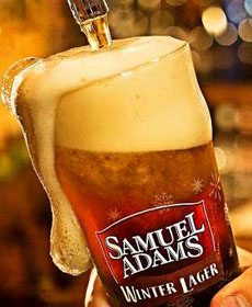Samuel Adams Winter Lager Tap